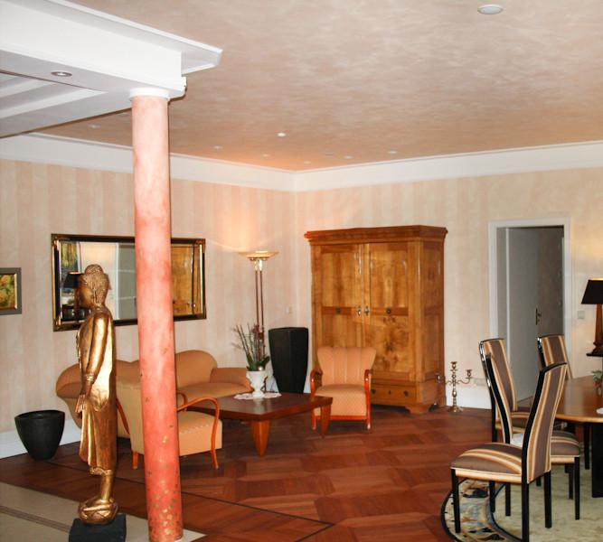 wohnen mit atmosph re hochwertige raumgestaltung ist nicht nur eine wohltat f r die seele sie. Black Bedroom Furniture Sets. Home Design Ideas