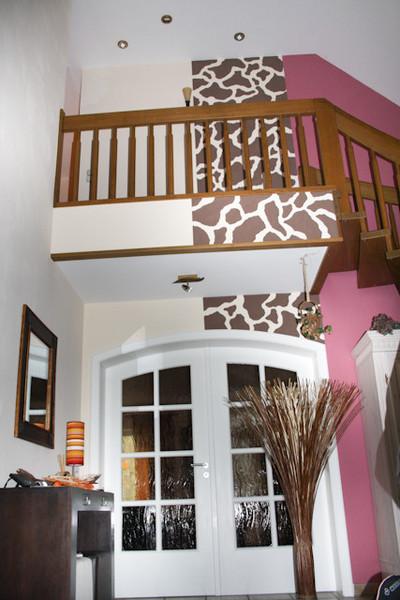 Wohnraumgestaltung treppenhaus for Treppenhaus deko