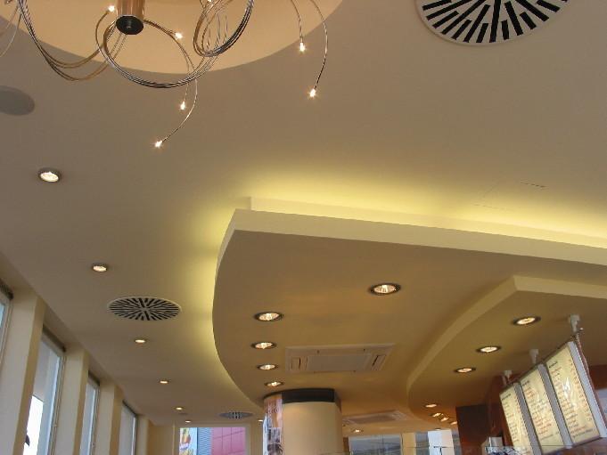 Unsere Leistungen: Trockenbau (Decken Und Wände), Wand  Und Deckengestaltung,  Bodenverlegearbeiten (CV Belag) Und Fliesenverlegearbeiten (Firma Herweg ...